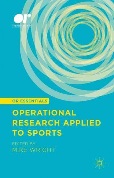 Operational research applied to sports /