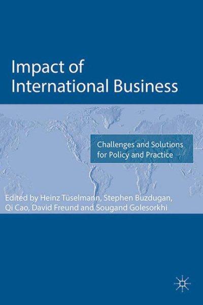 Impact of International Business