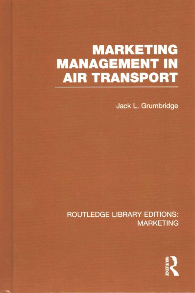 Marketing management in air transport /