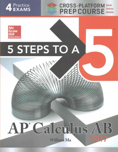 5 Steps to a 5 Ap Calculus Ab 2017