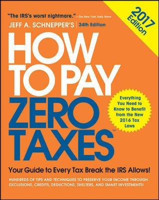 How to Pay Zero Taxes 2017