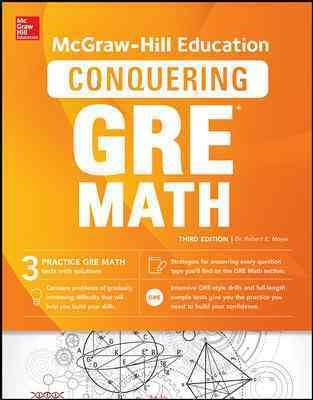 Mcgraw-hill Education's Conquering the New Gre Math
