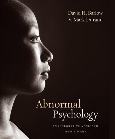 Abnormal psychology : an integrative approach /
