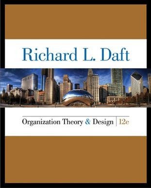 Organization theory & design /