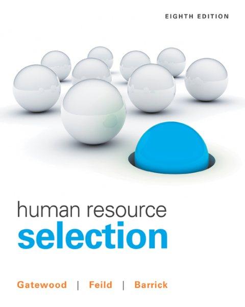 Human resource selection /