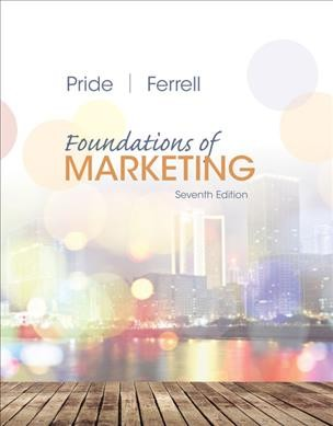 Foundations of marketing /