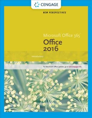 New Perspectives Microsoft Office 2016 Introductory