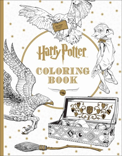 Harry Potter Coloring Book 哈利波特著色書