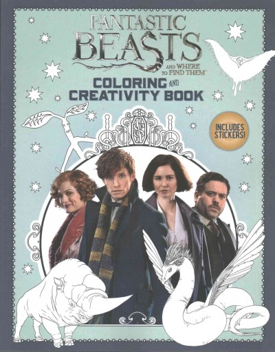 Fantastic Beasts and Where to Find Them:Coloring and Creativity Book