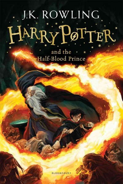 Harry Potter and the Half-Blood Prince (6) Rejacket 2014