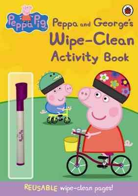 Peppa and Georges Wipe Clean Activity Bk