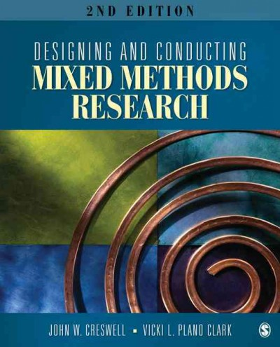 Designing and conducting mixed methods research /