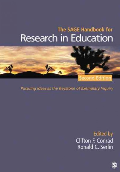 The SAGE handbook for research in education : pursuing ideas as the keystone of exemplary inquiry /