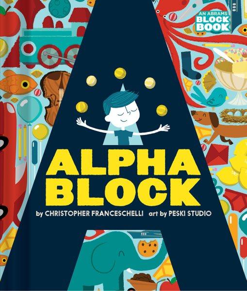 Alphablock趣味遊戲方塊書-ABC