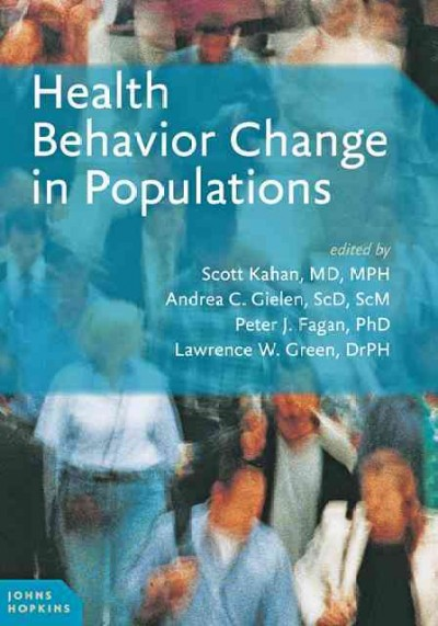 Health behavior change in populations /