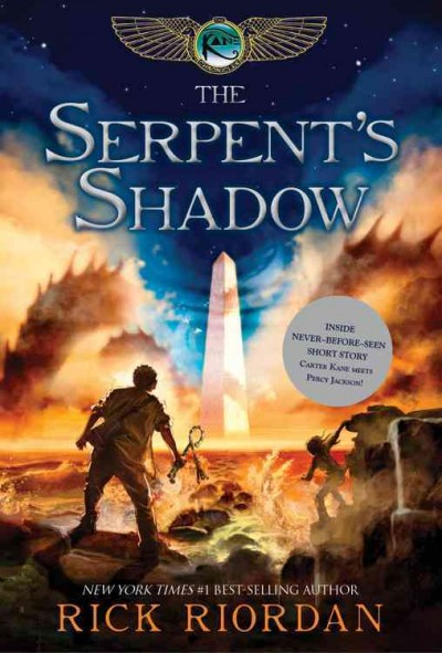 The Kane Chronicles 3:The Serpent``s Shadow 埃及守護神3:巨蛇的闇影