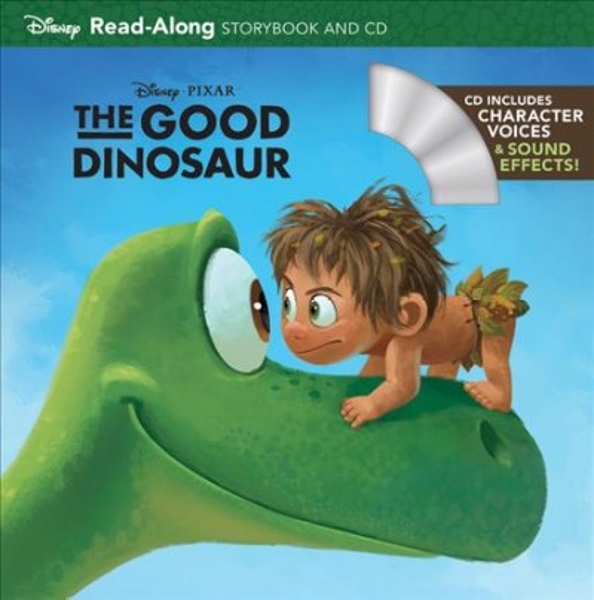 The Good Dinosaur:Read-Along Storybook and CD 恐龍當家故事書+CD