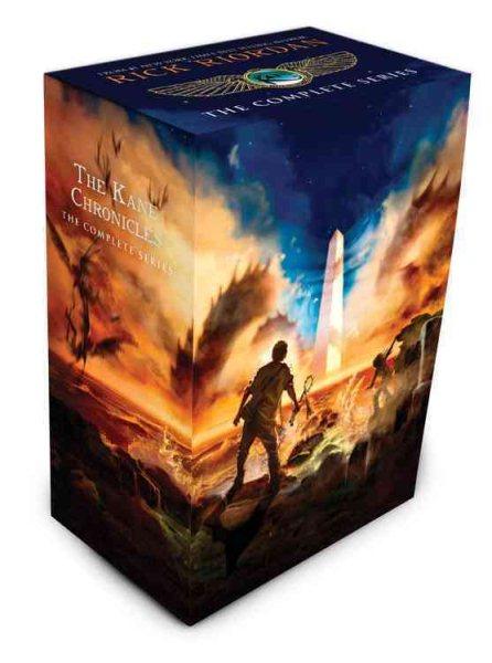 The Kane Chronicles Boxed Set 埃及守護神1-3套書(平裝)