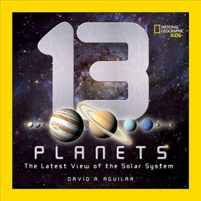 13 planets : the latest view of the solar system 封面