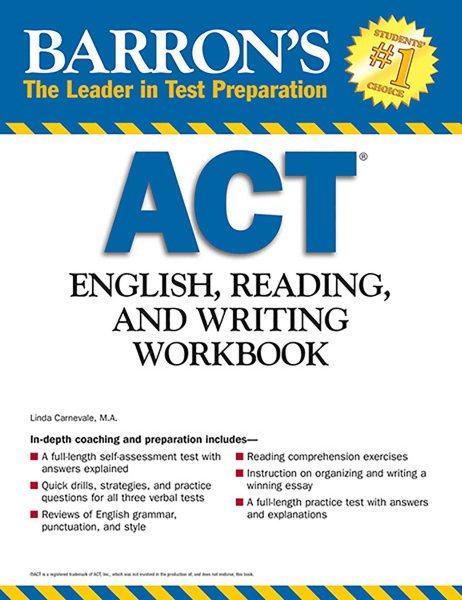Barron's Act English, Reading and Writing