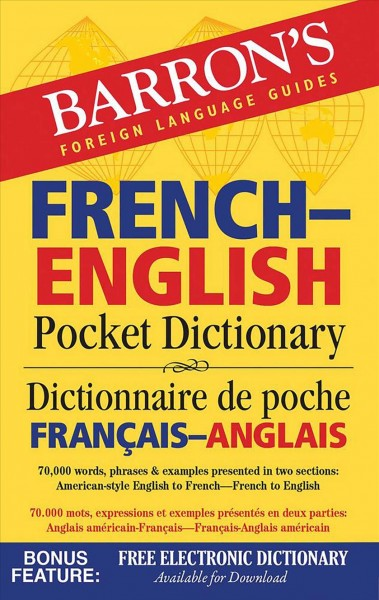 Barron's French-english Pocket Dictionary
