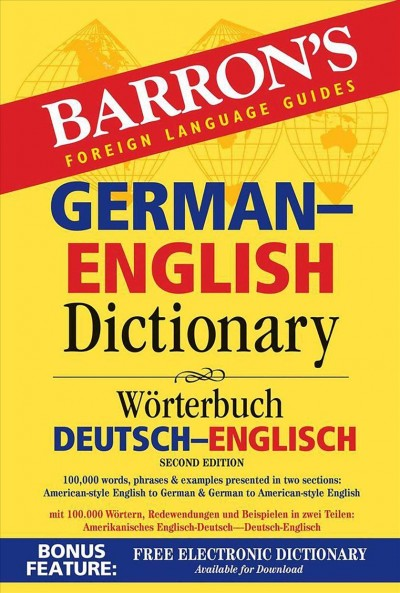 Barron's German-english Dictionary
