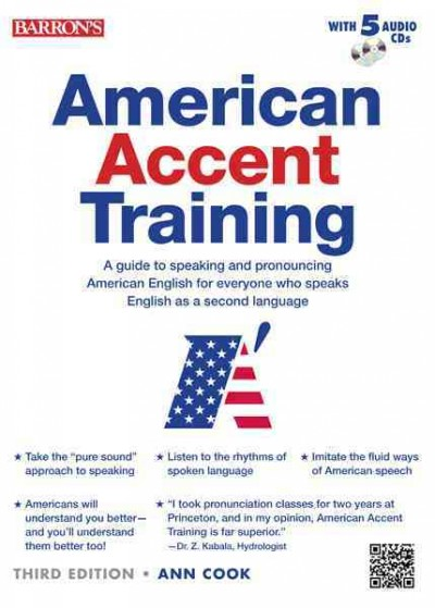 American Accent Training + 5 Audio Cds