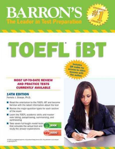TOEFL iBT : : internet-based test