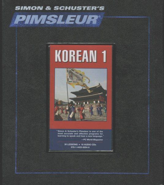 Pimsleur Korean Level 1