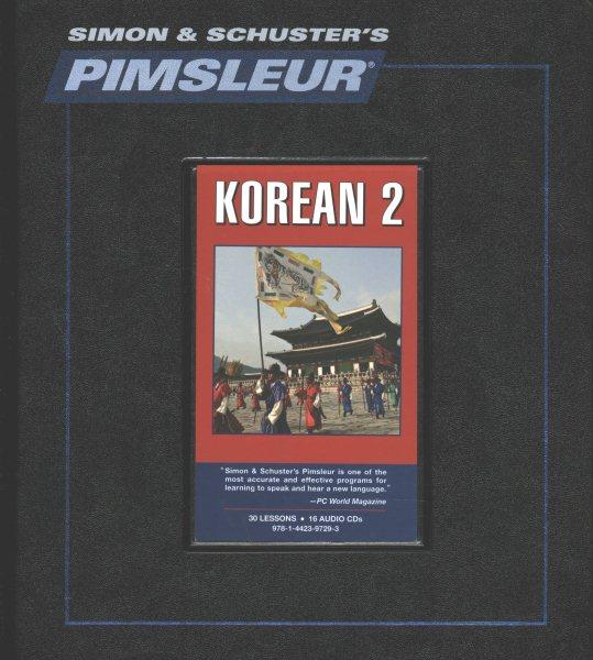 Pimsleur Korean Level 2