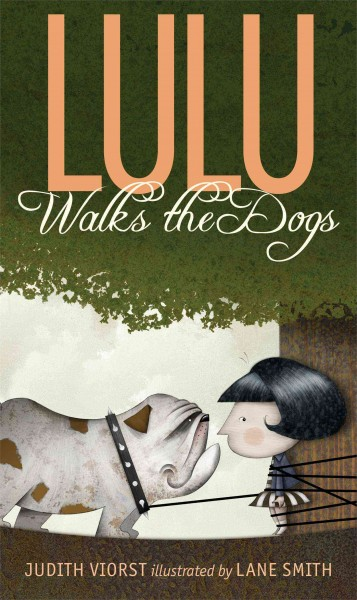 Lulu walks the dogs /