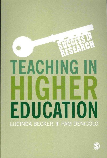 Teaching in higher education /