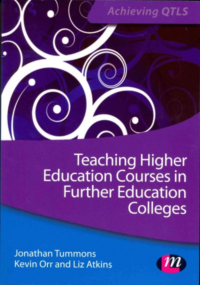 Teaching higher education courses in the FE and skills sector /