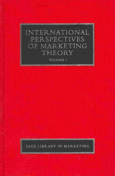 International perspectives of marketing theory /