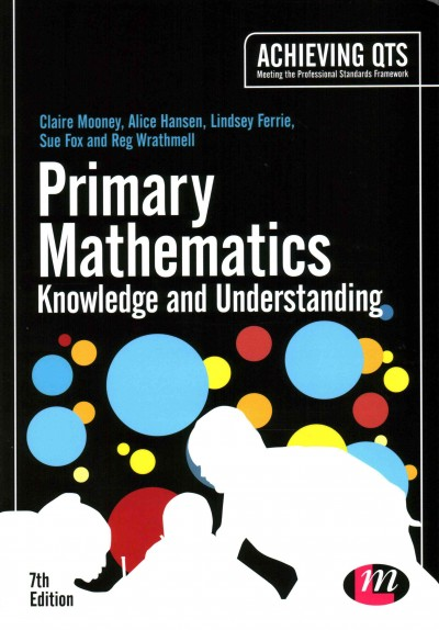 Primary mathematics : knowledge and understanding /