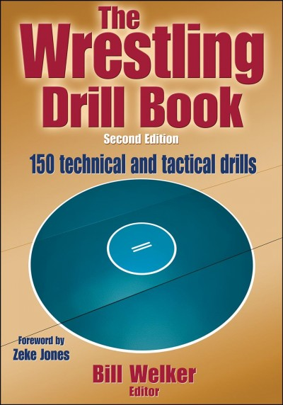 The wrestling drill book /