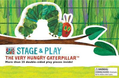 Eric Carle:The Very Hungry Caterpillar Stage & Play 好餓的毛毛蟲紙偶遊戲書