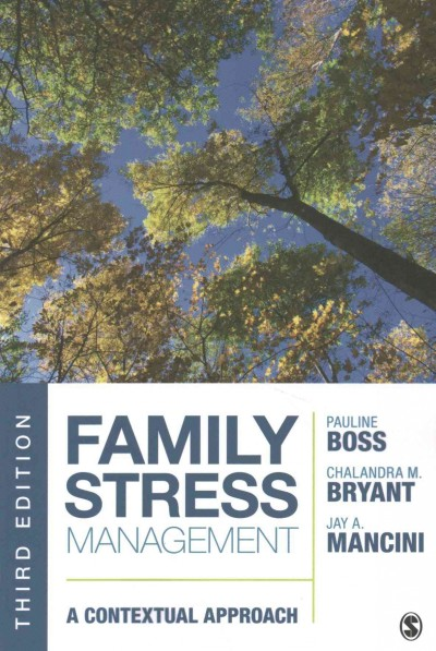 Family stress management : a contextual approach