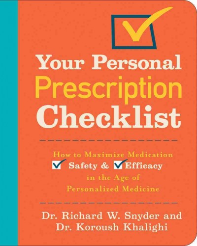 Your Personal Prescription Checklist