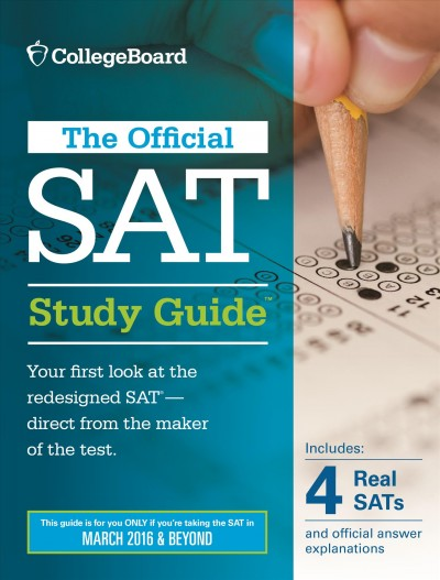 The official SAT study guide [2015]