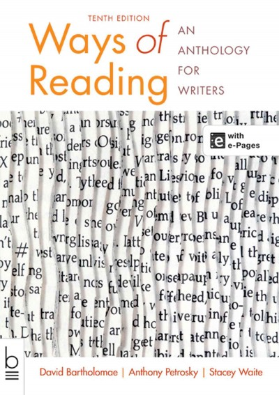 Ways of reading : an anthology for writers /