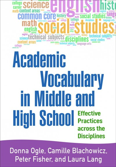 Academic Vocabulary in Middle and High School