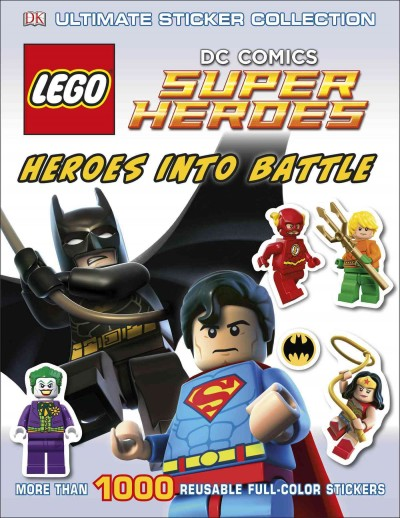 LEGO DC Super Heroes:Ultimate Sticker Collection 樂高DC超級英雄貼紙書