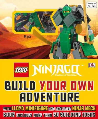 LEGO NINJAGO:Build Your Own Adventure 樂高旋風忍者:打造你的忍者