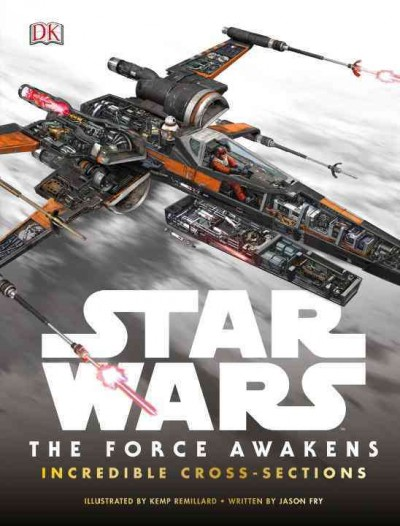Star Wars:The Force Awakens Incredible Cross-Sections 星際大戰:原力崛起科技設定
