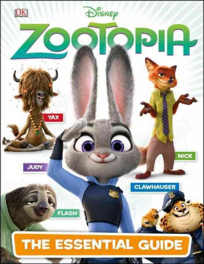 Zootopia:The Essential Guide 動物方城市:必備指南