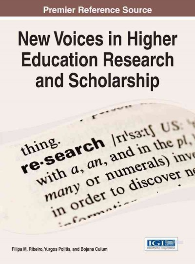 New voices in higher education research and scholarship /