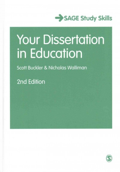 Your dissertation in education /