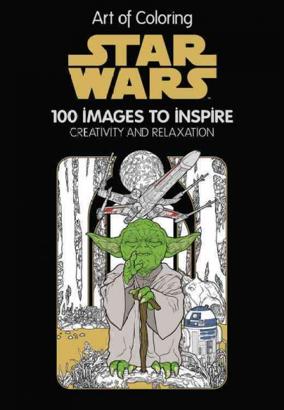 Star Wars:100 Images to Inspire Creativity and Relaxation 星際大戰著色畫