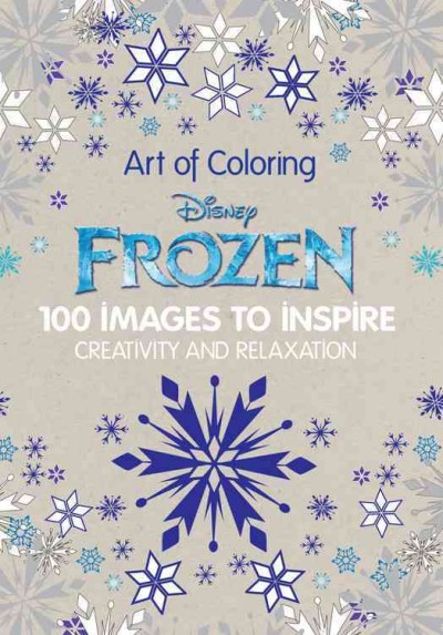 Frozen:100 Images to Inspire Creativity and Relaxation 冰雪奇緣著色畫